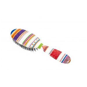Rock and Ruddle Folio society stripe Grand Format - Brosse à cheveux en poils de sanglier