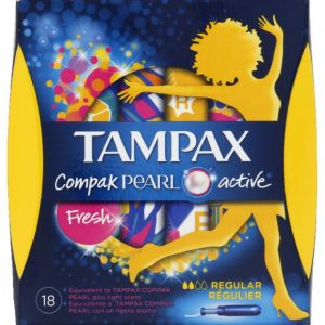 Tampax Tampons Pearl Active Fresh régulier