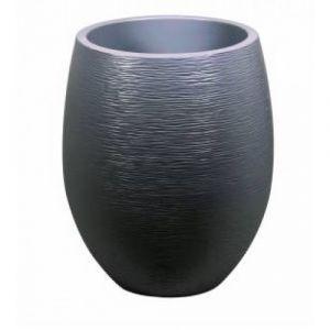 Eda Plastiques Pot rond Graphit diam. 50 cm - 53 litres