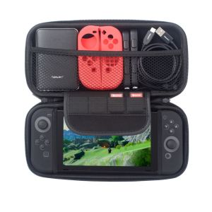 Insten Étui Housse De Protection De Transport Rangement Noir Pour Console Nintendo Switch