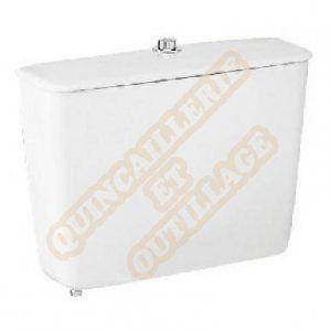 Porcher réservoir aspirambo avec chasse simple. blanc réf p945101