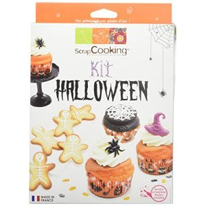 Scrapcooking Kit Biscuits/Cupcakes Halloween 300 g