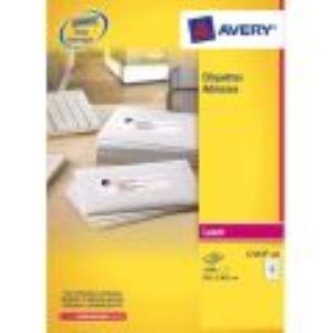 Avery-Zweckform 2400 étiquettes d'adresses (3,39 x 6,35 cm)