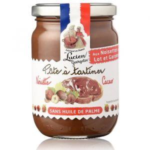 Lucien georgelin Pâte à tartiner cacao et noisette du Lot-et-Garonne 280 grs