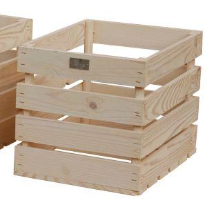 Estwood Caisse en bois 35x26x26 cm