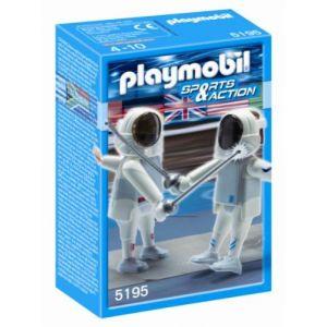 Playmobil 5195 - Deux escrimeurs