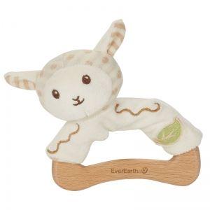 EverEarth EE33691 - Hochet peluche mouton en bois