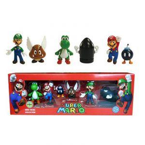 Abysse Corp 6 figurines Super Mario de collection