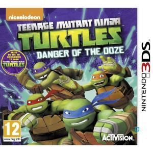 Teenage Mutant Ninja Turtles : Danger of the Ooze [3DS]