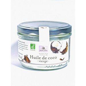 Bio planète Huile de coco vierge Plaisir culinaire et soin corporel 200ml