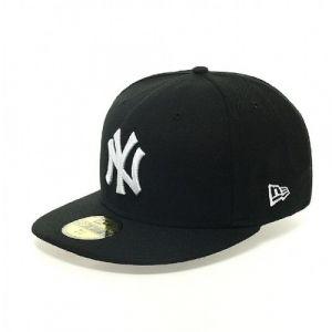 A New Era 5950 Fashion Ny Yankees casquette noir blanc 7 7/8