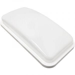 Silamp Applique LED Murale 20W Rectangulaire IP65 - couleur eclairage : Blanc Neutre 4000K - 5500K