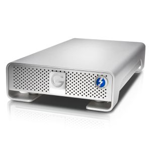 "G-Technology GDRETHU3EB30001BDB - Disque dur externe G-Drive Thunderbolt 3 To 3.5"" USB 3.0 7200rpm"
