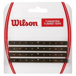 Wilson Tungsten Tuning Tape black YCS RRP 10.11 by