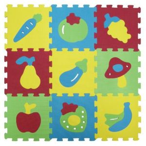 Ludi Dalles en mousse Basic : Fruits