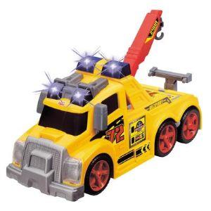 Dickie Toys Camion dépanneur avec effets lumineux et sonores