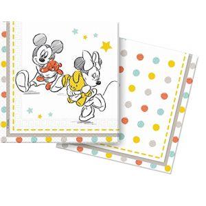 20 serviettes en papier Disney Bébé douche