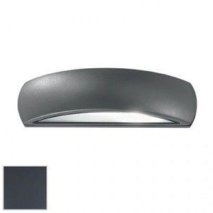 Image de Ideal lux 092188 - Applique extérieure design Giove gris anthracite aluminium