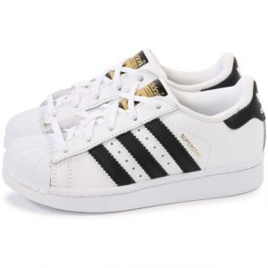 Adidas Superstar Foundation, Baskets Mixte Enfant, Blanc (Footwear White/Core Black/Footwear White 0), 32 EU
