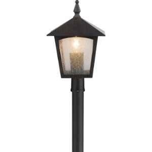 Globo Lighting Lampadaire extérieur aluminium fonte couleur rouille - Verre translucide - IP44
