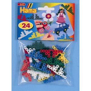 Hama Lot de 24 supports pour motifs en perles à repasser