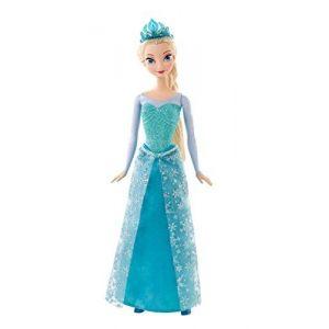 Mattel Poupée Elsa Paillettes La Reine des Neiges