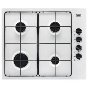 Faure FGH62414WA - Table de cuisson gaz 4 foyers