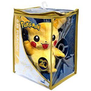 Peluche Pokemon Pikachu édition spéciale 20ème anniversaire