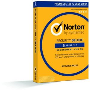 Norton Security Deluxe 2016 pour Windows, Mac OS, Android, iOS