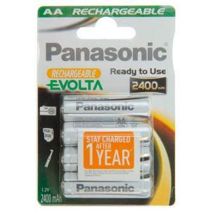 Panasonic Evolta rechargeable 2450 mAh - Pile rechargeable AA LR06 (x4) 2450 mAh
