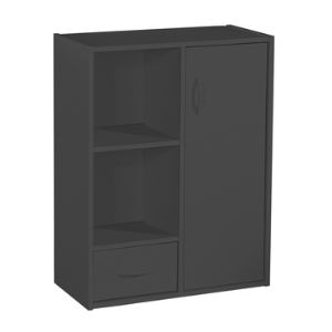 Bibliothèque modulable Compo avec 1 porte, 1 tiroir et 2 cases