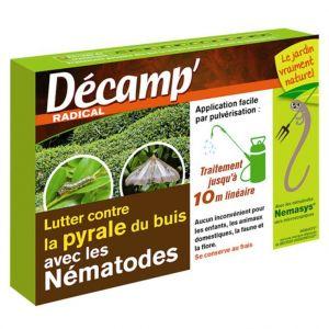 Decamp Nématodes contre pyrale du buis 25 millions
