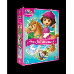 Coffret Dora fait du cheval