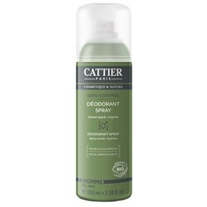 Cattier Safe-control Déodorant spray bio - 100ml