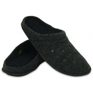 Crocs Classic Slipper, Chaussons Mixte Adulte - Noir (Black/Black), 39-40 EU (M6/W7 UK)