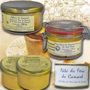 Mon epicerie fine de teroir Dégustation de foie gras francais, du sud ouest