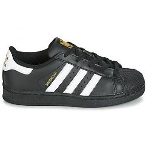 Adidas Superstar Foundation, Sneakers Basses Mixte Enfant, Noir