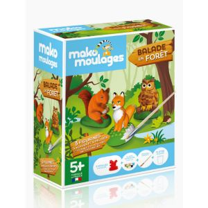 Mako moulages Kit de moulage Balade en forêt