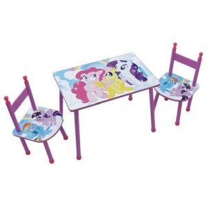 H.Koenig Table enfant et 2 chaises My Little Pony