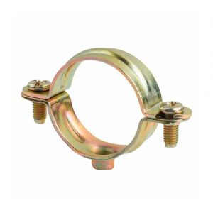 Index 100 colliers métalliques légers simple M6 D. 12 mm - ABM6012