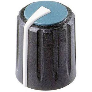 Rean Tête de bouton rotatif F 311 S 096 noir/bleu (Ø x h) 11 mm x 15.15 mm 1 pc(s)