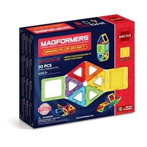 Magformers 715001 - Magnétique Multicolore