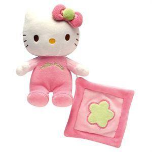 Jemini Hochet avec mini Doudou Hello Kitty