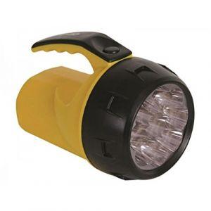 Velleman Lampe-torche led puissante - 9 leds - 4 x pile r6 - PEREL