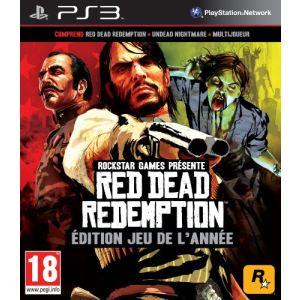 Red Dead Redemption Edition jeu de l'année -  Le jeu + Undead Nightmare [PS3]