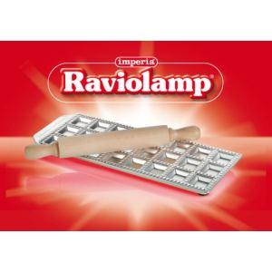 Imperia Plaque Raviolamp pour 24 raviolis avec rouleau