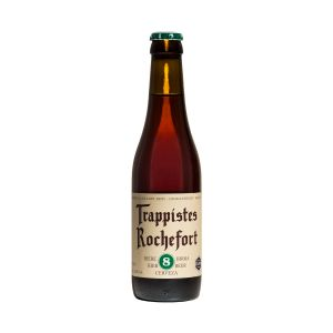 Trappistes Roc fort 8 bière belge brune 9,2% Bouteille 33cl