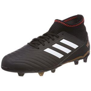 pretty nice d7bb7 dfd30 Adidas Predator 18.3 FG J, Chaussures de Gymnastique Mixte Enfant,  Multicolore (Core Black
