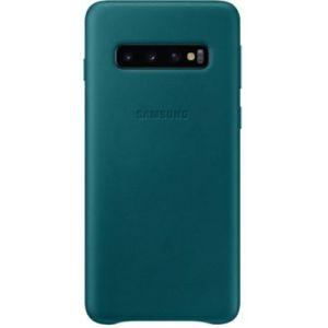 Samsung Coque S10 Cuir vert