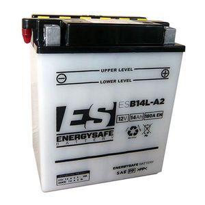EnergySafe Batterie YB14L-A2 avec acide